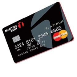 thẻ tín dụng maritime bank