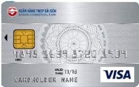 Thẻ tín dụng SCB Visa
