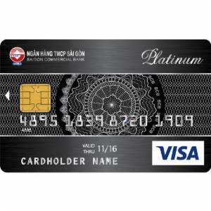 Thẻ tín dụng SCB Visa Platinum