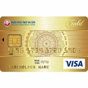 Thẻ tín dụng SCB Visa Gold