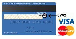 mã bảo mật thẻ tín dụng