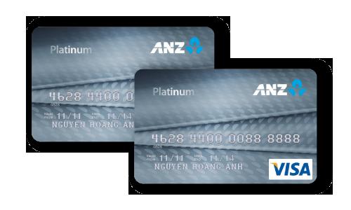 Thẻ tín dụng ANZ platinum, rút tiền mặt thẻ tín dụng anz, rút tiền mặt từ thẻ tín dụng anz, rút tiền thẻ tín dụng anz