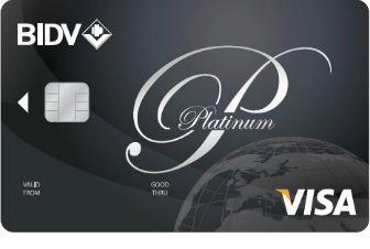thẻ tín dụngBIDV Visa Platinum