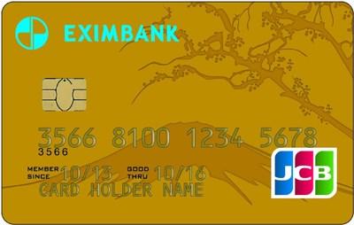 Thẻ tín dụng quốc tế Eximbank JCB