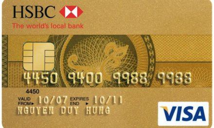 Thông tin về thẻ tín dụng HSBC
