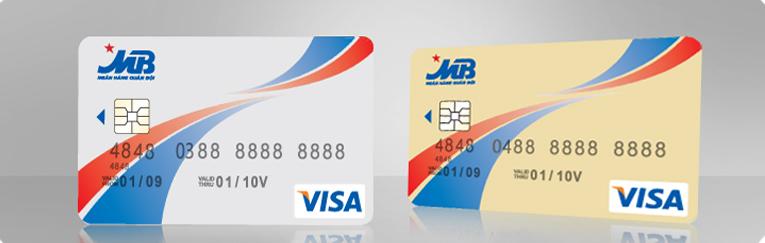 Thẻ tín dụng MB bank Visa Credit