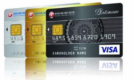 Thẻ tín dụng Ngân hàng TMCP Sài Gòn SCB