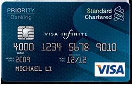 Thẻ tín dụng Standard Chartered