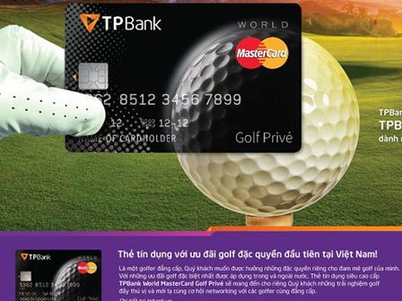 Thẻ tín dụng TPBank World MasterCard Golf Prive