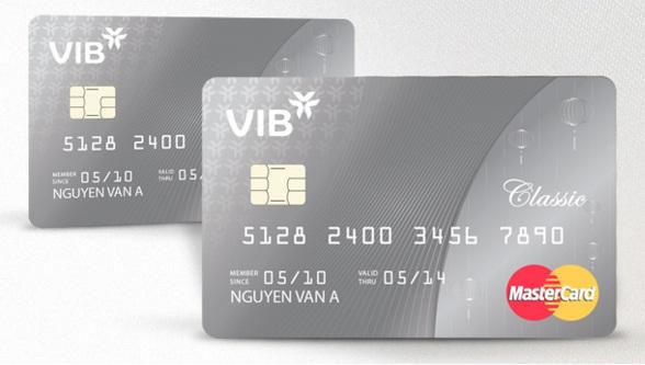 Thẻ tín dụng VIB Classic