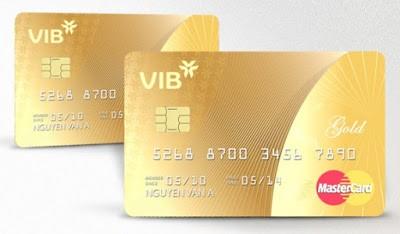 Thẻ tín dụng VIB Gold