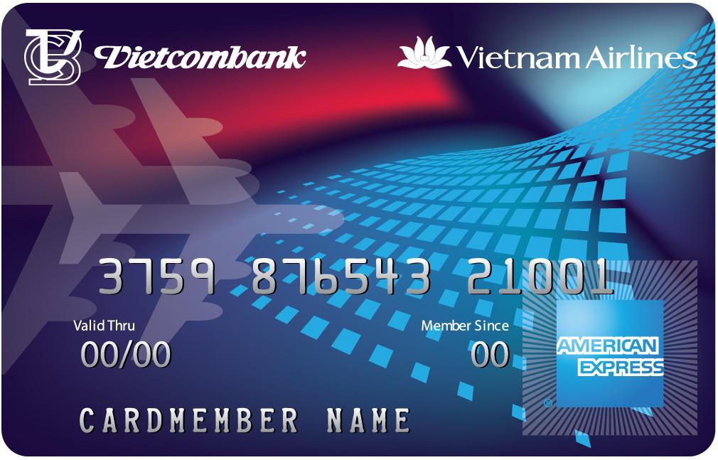 Thẻ Vietcombank Vietnam airline