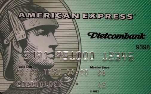 Thẻ Vietcombank American express