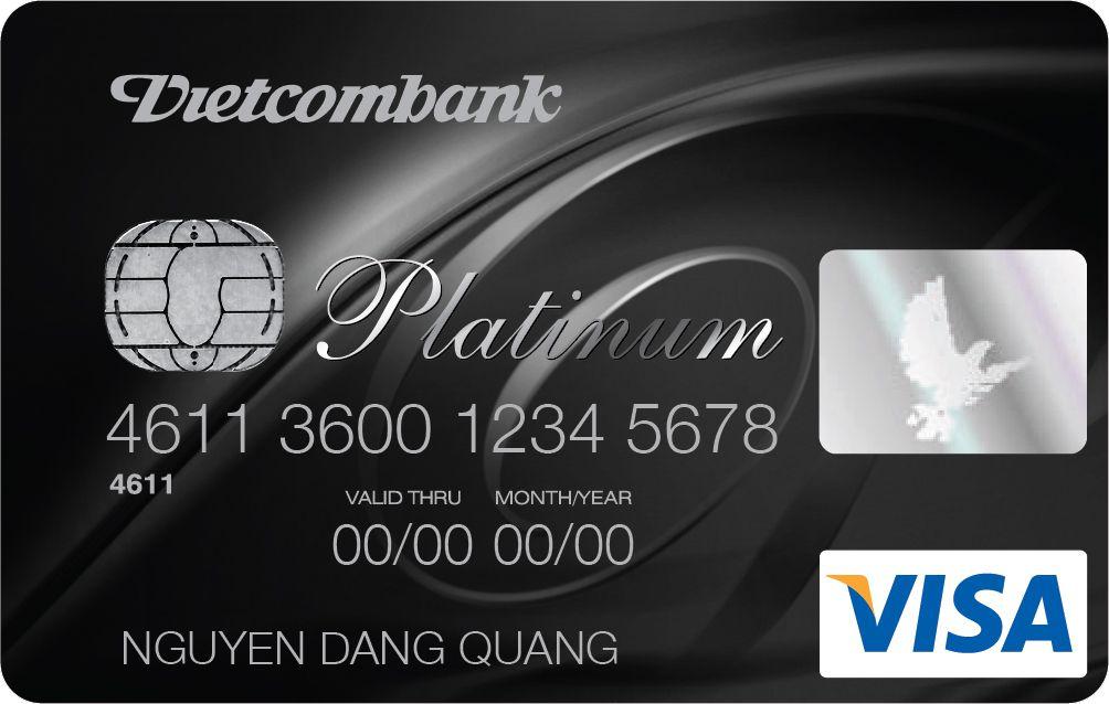 thẻ tín dụng visa vietcombank platinum