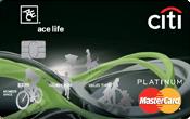 Thẻ tín dụng Citi bank ACE life