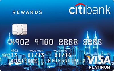 Thẻ tín dụng Citi bank Rewards