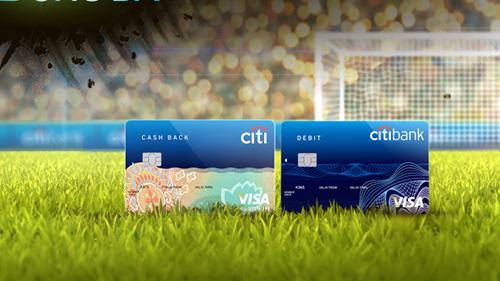 Thẻ tín dụng quốc tế Citibank