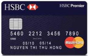 thẻ tín dụng masercard HSBC
