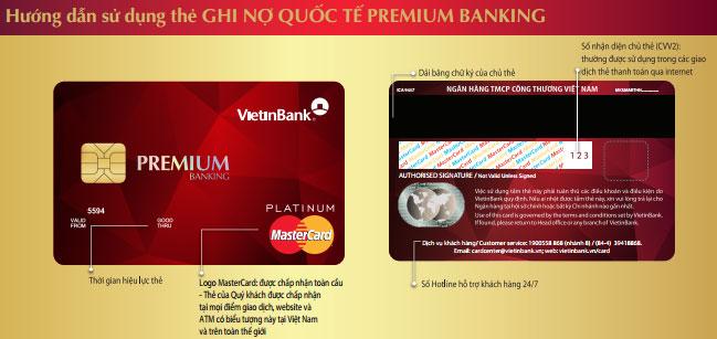 Thẻ tín dụng quốc tế Premium banking