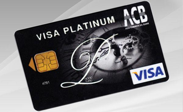 thẻ tín dụng ACB platinum