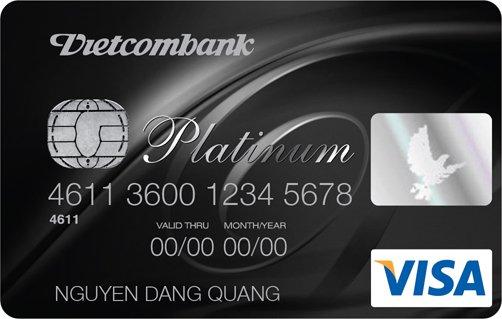 thẻ tín dụng visa Vietcombank