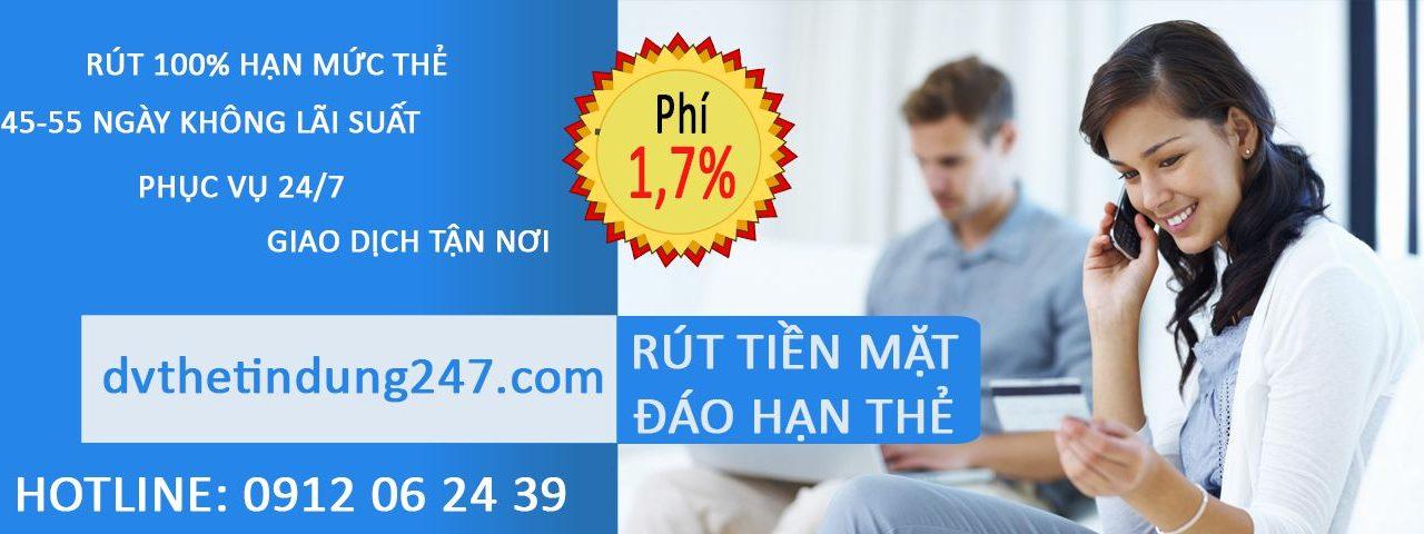 Rút tiền mặt từ thẻ tín dụng Vietcombank