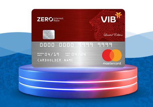 Tính năng thẻ VIB Zero Interest Rate